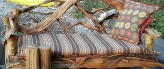 Использование коряжек в интерьере