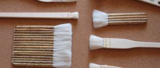 Кисть флейц для акварели - заменим из строительного магазина?