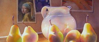 Как использовать лессировку в живописи: тайны художников
