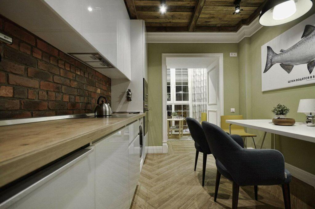 Удобная, эффектная, современная кухня для всей семьи