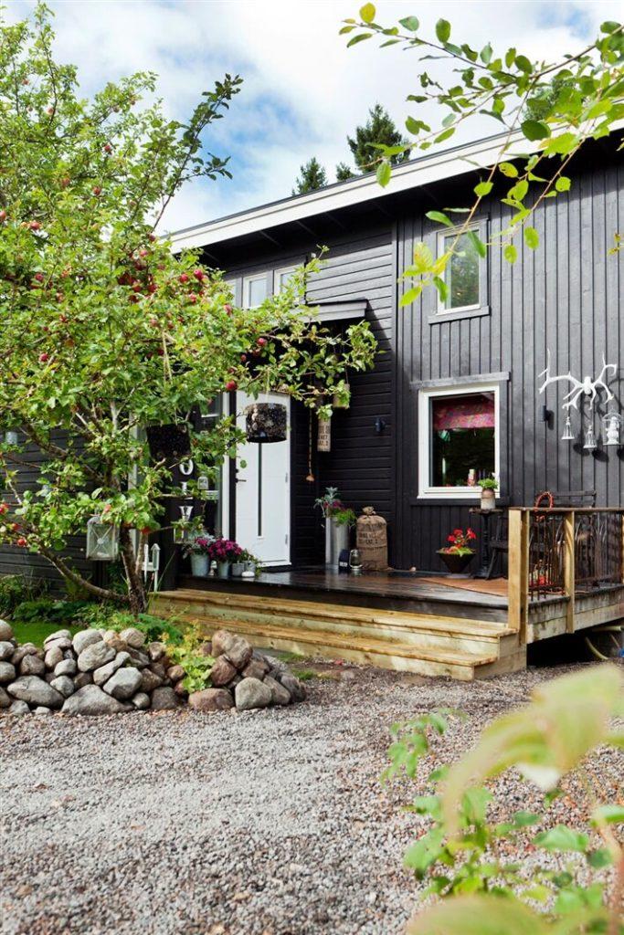 Интерьер в скандинавском стиле - необычное решение. Хорошая идея для любого дома!
