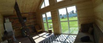 Бюджетный и красивый каркасный домик: строительство в одиночку