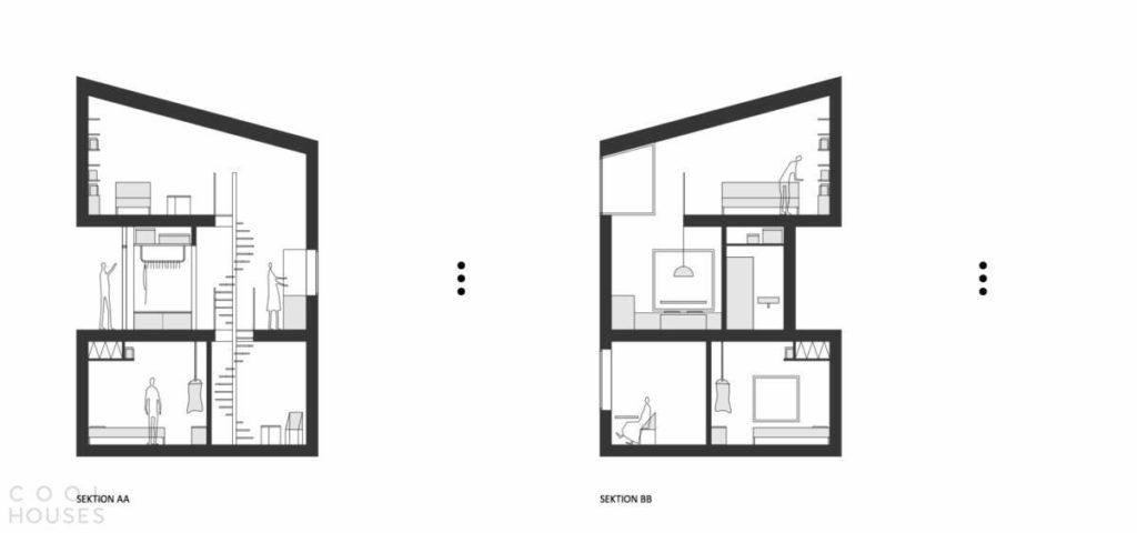 Не хватает места на земле: проект домов на отвеской скале