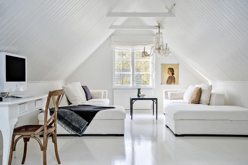 Колоритный шведский дом для большой семьи: 5 спален и 181 м2