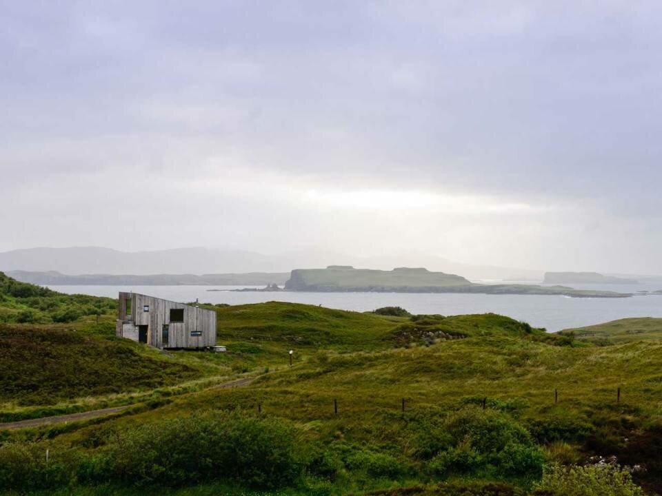 Дом в Шотландии для жизни и отдыха. Пейзаж от которого пропадает дар речи