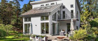 Дом 190 м2 для большой семьи! 4 спальни, компактный, оригинальный!