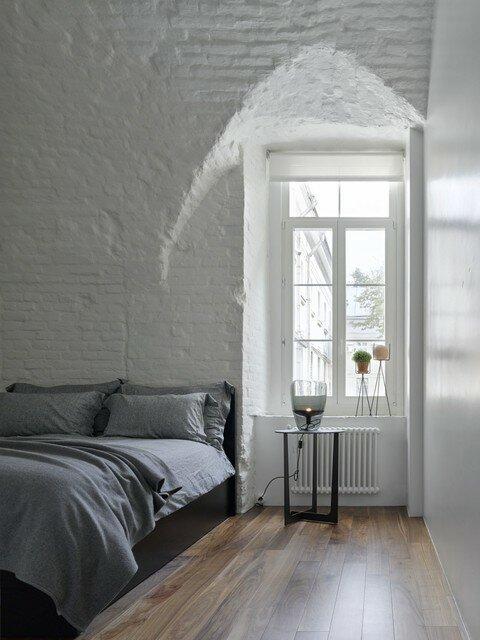 Тайна московской квартиры. Сводчатые потолки нашлись под слоями штукатурки и перегородками