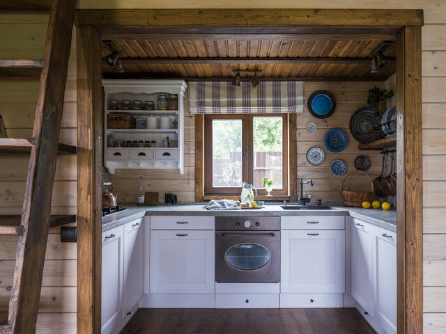 Уютный дом-баня с аптекарским огородиком