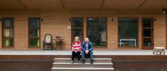 Где лучше всего провести старость? Экономичный и компактный каркасный дом (45 м2) для пары человек - подарок от сына родителям