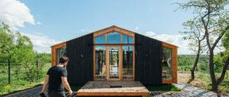 Модульный дом с головокружительным видом: типовой дом и интерьер как повод для легкой жизни, а не для переживаний
