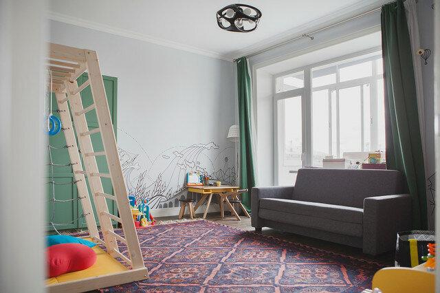 Лаконичный и стильный интерьер, доступный каждому: стеллаж как украшение дома